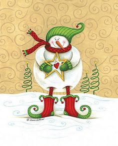 Prá Guardar: Decoupage natal Christmas Canvas, Old Christmas, Antique Christmas, Christmas Signs, Christmas Pictures, Christmas Snowman, Christmas Ornaments, Snowman Images, Snowmen Pictures