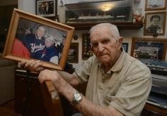 Charlie Zabransky, a World War II veteran and retired gatekeeper of the New York Yankees' clubhouse, maintains a collection of 800 or so personalized autographs from ballplayers, politicians and movie stars who passed through the Stadium in his time.