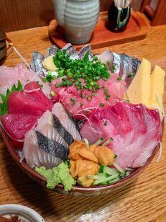 海鮮丼 - Chirashizushi