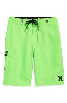 Hurley 'One & Only' Board Shorts (Toddler Boys, Little Boys & Big Boys) available at #Nordstrom