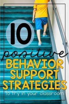 Maybe it's just me, but I'm always on the lookout from other teacher friends for positive behavior support and classroom management ideas. Here are some strategies I use in my classroom to give students the behavioral support they need! I've used all of t Effective Classroom Management, Classroom Management Strategies, Behaviour Management, Student Behavior, Classroom Behavior, Special Education Classroom, Classroom Ideas, Behavior Plans, Classroom Environment
