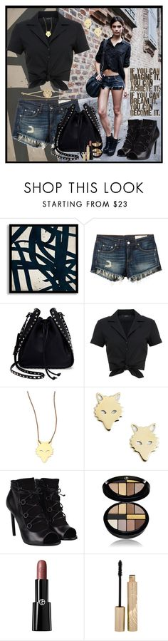 """If you can imagine it"" by julyralewis ❤ liked on Polyvore featuring DwellStudio, rag & bone/JEAN, Valentino, Hallhuber, Ginette NY, Yves Saint Laurent, Giorgio Armani, Stila and Alexa K"