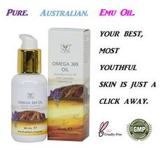 If you haven't tried 100% Pure Australian Emu Oil, your skin is about to fall in love.  #AustralianEmu