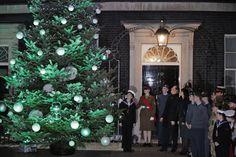 Encendido del árbol en el 10 de Downing Street