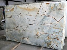Blue Roma Quartzite Slab 4580 countertop slabs for Atlanta, North Georgia.