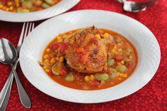 Brunswich Chicken Stew @Jeanette | Jeanette's Healthy Living
