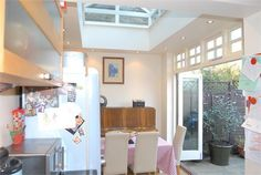 sold in hither green. great rooflight extension with transome windows over the concertina doors. bad pic, but estate agents aren't photographers hehe Doorway Ideas, Concertina Doors, Bad Pic, Roof Light, Light And Space, Bedroom Wardrobe, Estate Agents, House Prices, Property For Sale