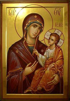 Byzantine Icons, Orthodox Christianity, Hail Mary, Orthodox Icons, Mother Mary, Religious Art, Madonna, Album, Movie Posters