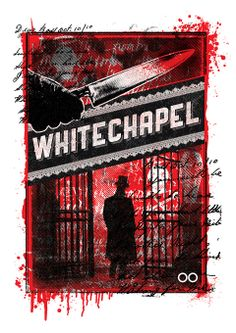 Whitechapel tee print created by Balaclava Studio to Liverpool Camisetas.