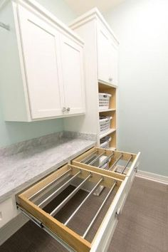 """Fantastic """"laundry room storage diy cabinets"""" information is offered on our site. Read more and you wont be sorry you did. Laundry Room Cabinets, Basement Laundry, Small Laundry Rooms, Laundry Room Design, Diy Cabinets, Laundry Closet, Bathroom Closet, Laundry Room With Sink, Laundry Sinks"""
