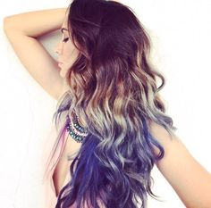 Purple Ombre- My hair journey #hairinspo #purplehair #purpleombre #hairgoals #hairtips