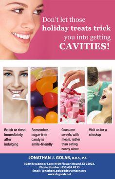 Tips to prevent #cavities #Dentist #FlowerMound