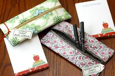 Shopping for school supplies is always exciting for kids and their parents, but making them can be even more fun. Check out these back-to-school pencil case patterns!