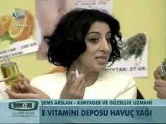 """Şems Arslan'dan """"Cilt lekelerine karşı havuç yağı"""" - YouTube"""