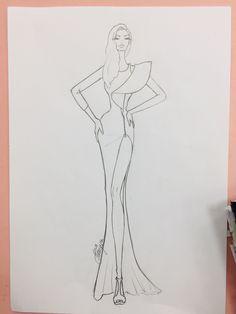 Fashion Illustration Poses, Fashion Illustration Tutorial, Fashion Drawing Tutorial, Fashion Model Drawing, Fashion Figure Drawing, Fashion Drawing Dresses, Dress Design Drawing, Dress Design Sketches, Fashion Design Sketchbook