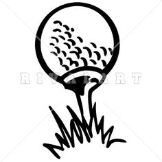 Man Birthday, Birthday Cards, Golf Clip Art, Black N White Images, Black And White, Chalkboard Signs, Clipart Images, Golf Ball, Stencils