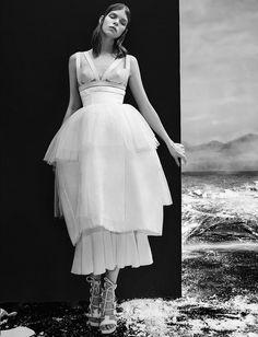 Meghan Collison by An Le for Numéro Russia #22 April 2015. #fashion #photography