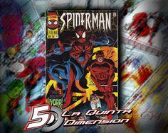 SPIDER-MAN # 74 DE 1996, JOHN ROMITA JR. DAREDEVIL. $ 50.00 Para más información, contáctanos en http://www.facebook.com/la5aDimension