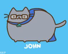 c6420bf5d4d8 John pusheen!! I do not own this art.