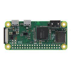 Raspberry Pi Zero W 1GHz CPU de un solo núcleo 512MB RAM Soporte Bluetooth y LAN inalámbrica