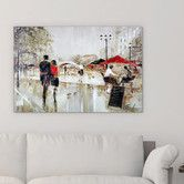"""Found it at Wayfair - """"River Walk"""" by Ruane Manning Painting Print on Wrapped…"""