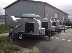 Custom Built 5x8 Teardrop Trailers | O-rama! Teardrop Trailers