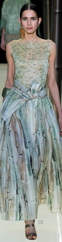 Armani Privé Spring 2015 Haute Couture | Purely Inspiration