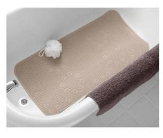 Cushion Bath Mat - Softex - Latex-free - Color Taupe - x - Mainstays