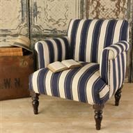 Wooden Upholstered Arm Chair | ACHICA