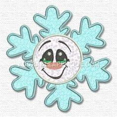 Free Embroidery Design: Snowflake