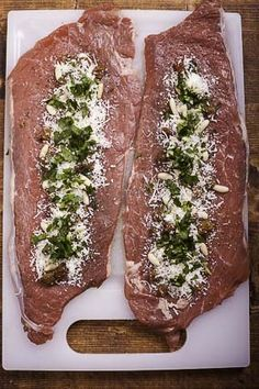 Then sprinkle with parsley...