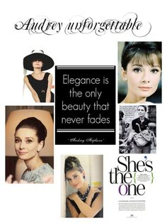 """Audrey Hepburn"" by evachasioti ❤ liked on Polyvore featuring Religion Clothing and audrey"