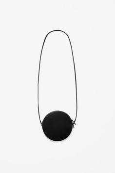 Circular leather bag | COS