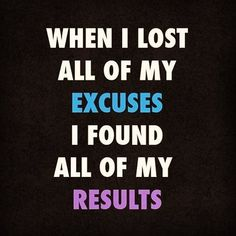 Excuses only last for so long. Eventually you have to change your approach to change your circumsrances. #results #change #nomorexcuses #makeithappen #mindset #tw