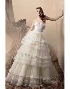 Pin by Jacky Bridal on Wedding Dresses 2013 Wedding Dress 2013, Bridal Wedding Dresses, Dream Wedding Dresses, One Shoulder Wedding Dress, Tulle Wedding, Wedding Pics, Wedding Attire, Wedding Bride, Dresses 2013