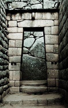 Doorway at Machu Picchu, uncredited