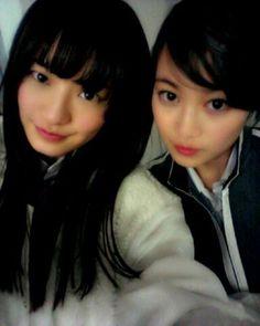 乃木坂46 (nogizaka46) Nakada Kana (中田花奈) Ikuta Erika (生田絵梨花)