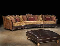 Image Detail for - Western Furniture Custom Living Room, Family Room Furniture customized ...