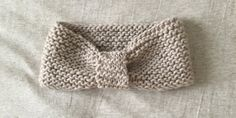 tuto pour tricoter un headband