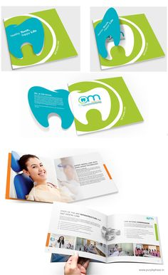 Brochure Design for Dental Clinic by Purple Phase Communications. www.purplephase.in