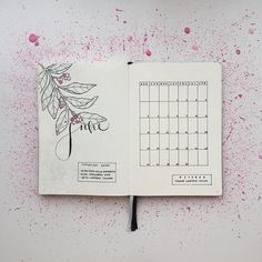 My Bullet Journal is ready for June, and yours? ⭐️ This is the last month of my second bj and I'm so excited to start a new one next month! #BulletJournal