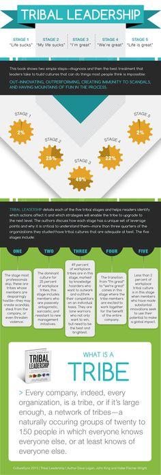 Tribal Leadership   Infographic