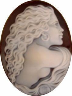 artistic shell cameos