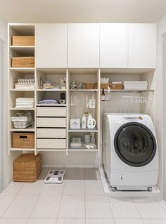 Laundry Room Design, House Plans, Home Appliances, House Design, How To Plan, Bathroom, Storage, Interior, Small Spaces