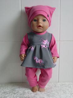 Puppenkleidung Herbst/Winter Set 3tlg f. z.B. BABY BORN o.a. 42-44cm Puppen**NEU in Spielzeug, Puppen & Zubehör, Babypuppen & Zubehör | eBay