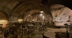 Interior of The Blind Pig in Fantastic Beasts and Where To Find them, inspiration for a 1920's speakeasy party