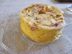 Low Carb Apfelkuchen aus der Mikrowelle