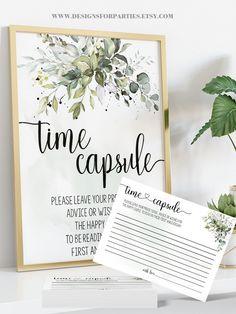 Wedding Reception Activities, Bridal Shower Activities, Wedding Shower Decorations, Wedding Shower Games, Wedding Ideas, Wedding Showers, Couples Shower Themes, Wedding Time Capsule, Bridal Shower Advice