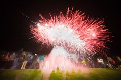 Toowoomba Carnival of Flowers goes off with a BANG! with fireworks at Sideshow Alley.
