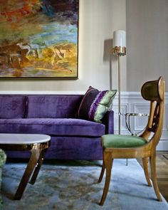 Radiant Orchid at Home   Rue